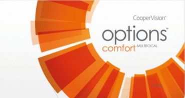 options COMFORT Multifocal Monatslinsen 3er Box (Cooper Vision)