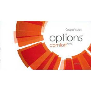 options COMFORT + Toric Monatslinsen 3er Box