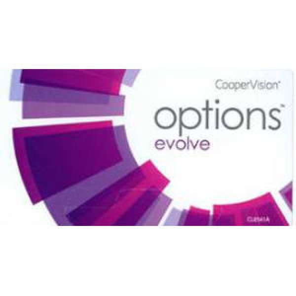 options EVOLVE + 3er oder 6er Box (Cooper Vision)