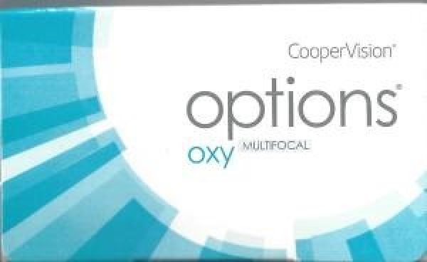 options OXY multifocal Monatslinsen 3er oder 6er Box (Cooper Vision)
